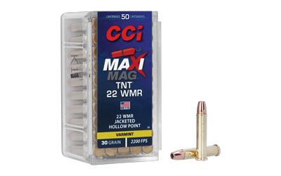 CCI 22WMR TNT MAXI-MAG 50/2000