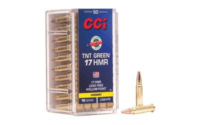 CCI 17HMR 16GR TNT GREEN 50/2000