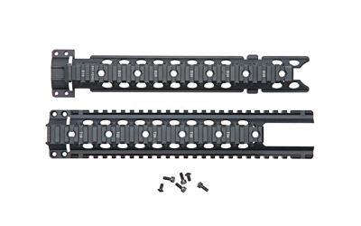 CN ARM C4 MIDLENGTH CUTOUT RAIL BLK