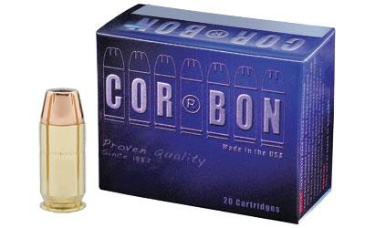CORBON 45ACP+P 165GR JHP 20/500