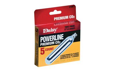 DAISY #7580 CO2 CYLINDERS 5/BX