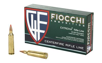 FIOCCHI 22-250REM 55GR VMAX 20/200