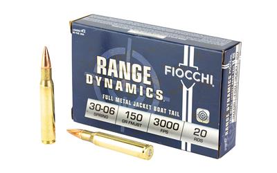 FIOCCHI 30-06 150GR FMJBT 20/200