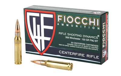 FIOCCHI 308WIN 150GR FMJBT 20/200