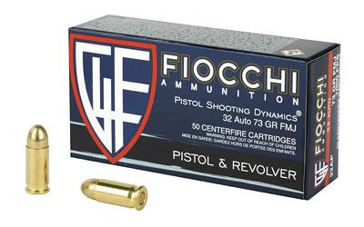 FIOCCHI 32ACP 73GR FMJ 50/1000