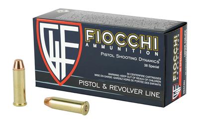 FIOCCHI 38SPL 125GR CMJ 50/1000