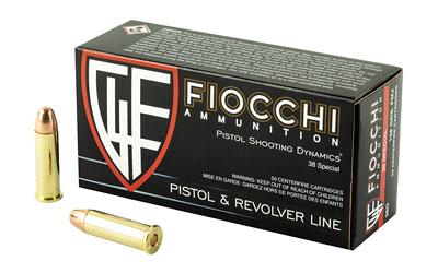 FIOCCHI 38SPL 158GR FMJ 50/1000