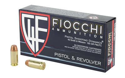 FIOCCHI 40SW 165GR FMJ 50/1000