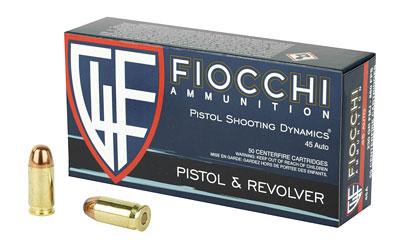 FIOCCHI 45ACP 230GR FMJ 50/500