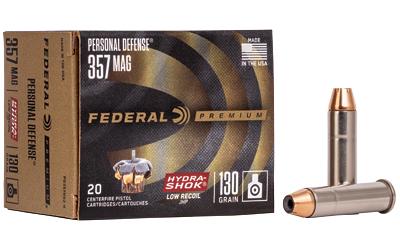 FED PD HYDRA-SHK 357MAG 130GR 20/200