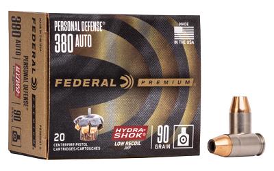 FED PD HYDRA-SHK 380ACP 90GR 20/200