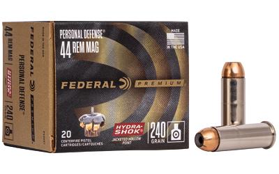 FED HYDRA-SHOK 44MAG 240GR 20/500
