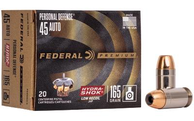 FED PD HYDRA-SHK 45ACP 165GR 20/200