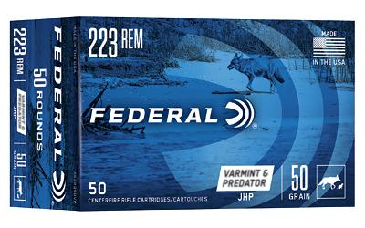 FED AM EAGLE V&P 223REM 50GR 50/250