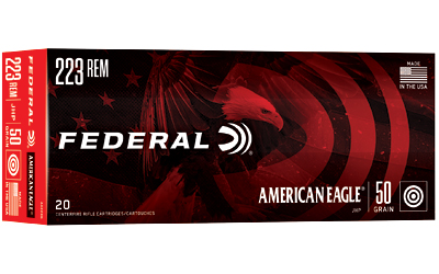 FED AM EAGLE 223 REM 50GR JHP 20/500