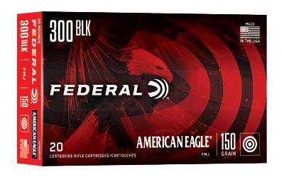 FED AM EAGLE 300BLK 150GR FMJ 20/500