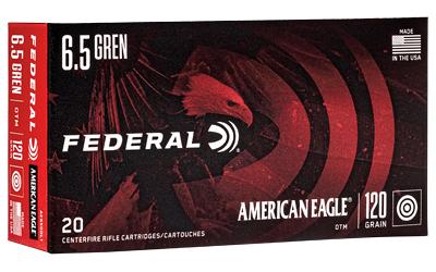 FED AM EAGLE 6.5GRNN120GR OTM 20/200