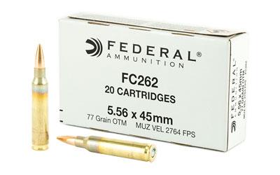 FED FC262 556NATO 77GR SMK 20/200