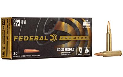 FED GOLD MDL 223REM 73GR BERGER 20/2