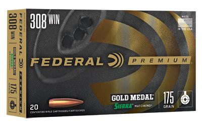 FED GOLD MDL 308WN 175GR BTHP 20/200