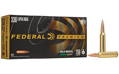 FED GOLD MDL 338LAP 250GR BTHP 20/