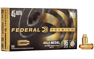 FED GOLD MDL 45ACP 185 FM/SW 50/1000