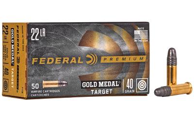 FED GOLD MDL 22LR 40GR TGT 50/5000