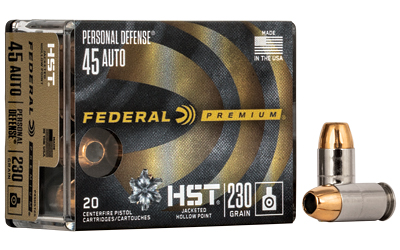 FED PRM HST 45ACP 230GR JHP 20/200