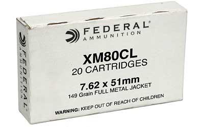 FED XM80C 7.62X51 149GR FMJ 500CS LC