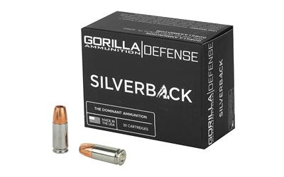 GORILLA SLVRBCK 9MM 115GR 20/200