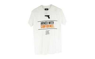 GLOCK OEM ARMED W/ CONFIDENCE WHT L