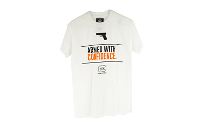 GLOCK OEM ARMED W/ CONFIDENCE WHT 3X