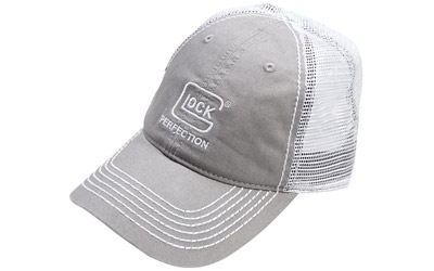 GLOCK OEM PERF MESH HAT LIGHT GREY