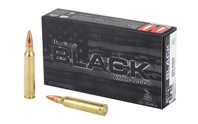 HRNDY BLACK 223REM 62GR FMJ 20/200