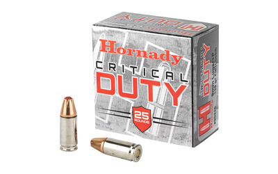 HRNDY 9MM+P 135GR CRT DUTY 25/250