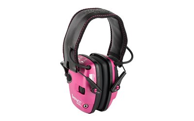 H/L IMPACT ELECT MUFF FLDNG PINK