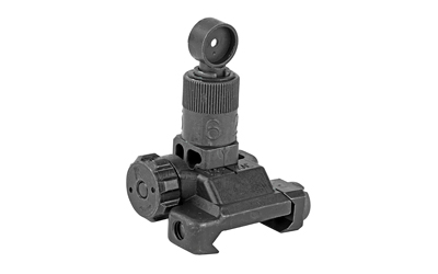 KAC 600M MICRO FLIP REAR SIGHT BLK