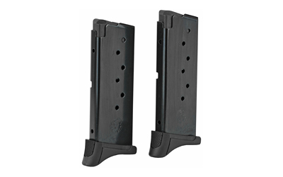 RUGER LC9/EC9S 7RD BL W/EXT 2PK MAGAZINE