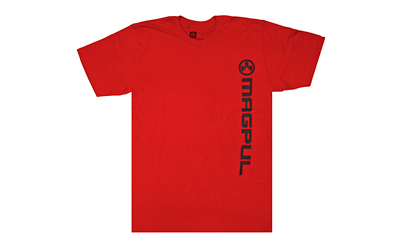 MAGPUL VERT LOGO TSHRT RED XL