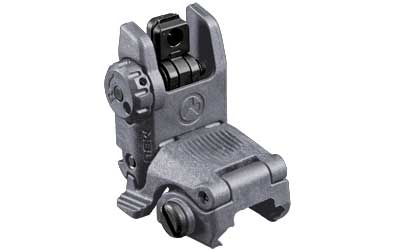 MAGPUL MBUS REAR FLIP SIGHT GEN 2 GRY