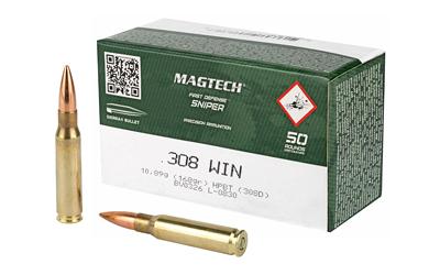 MAGTECH 308WIN 168GR HPBT 50/1000