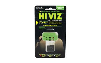 HIVIZ RUGER AP LIGHTWAVE REAR SIGHT