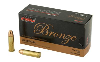 PMC BRNZ 38SPL 132GR FMJ 50/1000