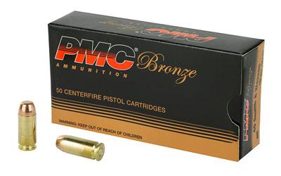 PMC BRNZ 40SW 165GR FMJ 50/1000