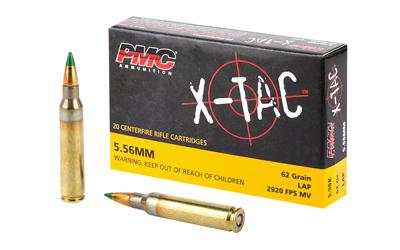 PMC XTAC 556NATO 62GR LAP 20/1000
