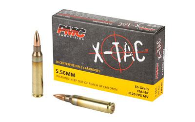 PMC XTAC 556NATO 55GR FMJBT 20/1000