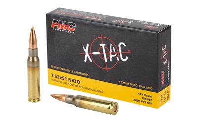 PMC XTAC 762NATO 147GR FMJ BT 20/500