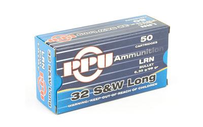 PPU 32 S&W LONG LRN 98GR 50/500