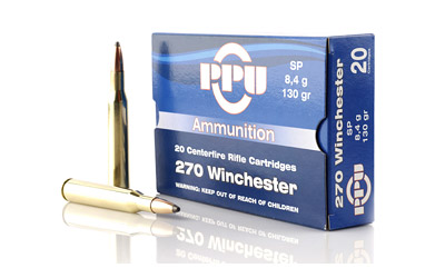 PPU 270WIN SP 130GR 20/500