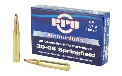 PPU 30-06 SP 180GR 20/500